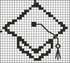 This free Cross Stitch pattern is protected by copyright laws. If someone wants a copy, please direct them to this URL - http://crossstitch.about.com/od/patternsfromyourguide/ig/Graduation-Motifs-/Graduation-Cap-3.htm