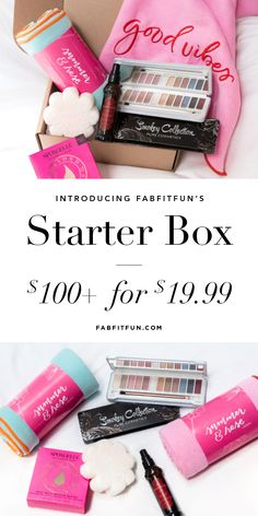 Introducing the new Starter Box filled with $100+ of amazing products for just $19.99 with code PARTY