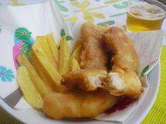 Cómo hacer Fish and Chips. La auténtica receta inglesa de pescado rebozado con patatas extra crujientes. Videoreceta paso a paso.