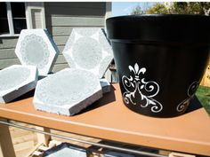 How To Enhance Your Garden with Stencils and Doilies