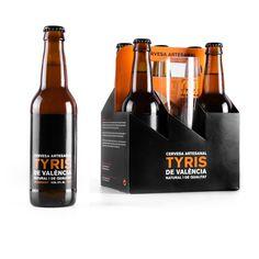 Identidad visual TYRIS - design: enblanc - client: Microcervecería Tyris