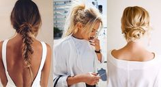 3 easy hair do's om vet haar te verbergen - MonStyle