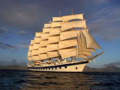 """Flag sailboat """"Peace"""" will be consecrated in the Church of St. Andrew in Solovki Royal Clipper, Naval, Somewhere Over, Seafarer, Tall Ships, Catamaran, Sailing Ships, Flag, Wallpaper"""
