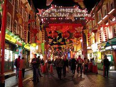 London, China Town