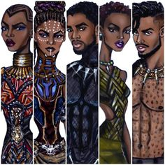 Black Panther collection by Hayden Williams