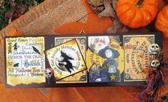 Witch Halloween Samhain Pagan Black Hat Society by CrowCrossroads, $35.00