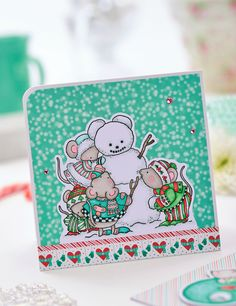 Do you wanna build a snowmouse? - PaperCrafter issue 88 (Photography: cliqq.co.uk)