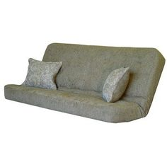 innerspring designer futon mattress size  full color  genovese by big tree furniture  hudson convertible futon sofa with black metal frame by american      rh   pinterest