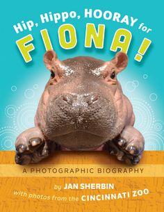 "Take Cincinnati Zoo's Fiona Home in New Book ""Hip, Hippo, Hooray for Fiona!"" - The Cincinnati Zoo & Botanical Garden Cute Hippo, Baby Hippo, Baby Animals, Cute Animals, Fiona The Hippo, Zoo Photos, Cincinnati Zoo, Pregnancy Books, Thing 1"