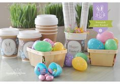 Easter treat hunt with clues!