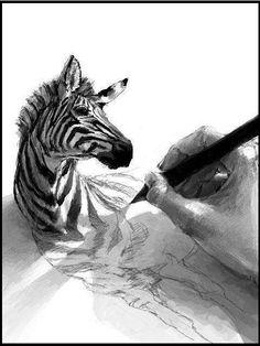 بالصور…… ابداع فنى 3D بالقلم الرصاص