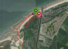 Vanuit ons vakantiehuis loop je zo de duinen van Cadzand in! Dit is een leuke hardlooproute. #Cadzand-Bad #vakantiehuis
