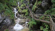 It is related to run nature universe ladder creation cascade pavement waterfall sidewalk barenschutzklamm world cosmos with ravel cataract. Mountain Waterfall, Waterfall Hikes, Waterfall Wallpaper, Day Hike, Summer Activities, Garden Bridge, Budapest, Travel Inspiration, Beautiful Places