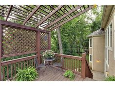 Striped Canopy For Back Deck Love It For The Home