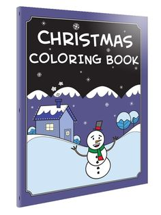 Christmas Coloring Book  PDF Printable Coloring by andymcnally, $4.00