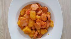 Kartoffelgulasch mit Wiener Würstchen, ein gutes Rezept aus der Kategorie Resteverwertung. Bewertungen: 150. Durchschnitt: Ø 4,5.