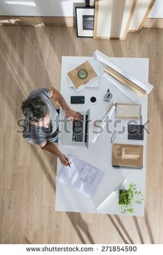 Desk Top View Stock Photos, Images, & Pictures | Shutterstock