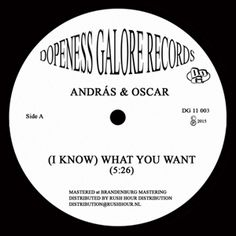 "ANDRAS-OSCAR-I-KNOW-WHAT-YOU-WANT (12"")"