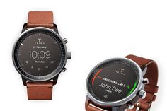 Freelance designer from Hungary, Gábor Balogh, proposes a concept for a smartwatch that simply takes the Swedish watchmaker Triwa's Havana timepiece and replaces its face with a circular display. The concept uses the buttons and bezel found on most watches (no touchscreen, no speech). The bezel is key to this interface. It can rotate to, for example, scroll through a long message or switch functions in an app, or be clicked to make a selection.