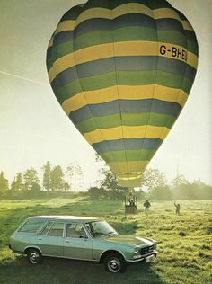 1981 Peugeot 504 Estate - is the ballon included??