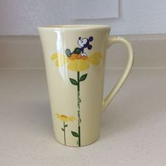 "Mickey Mouse Earth Day Disney Store Exclusive Ceramic Coffee Mug 6"" #Disney #MickeyMouse"