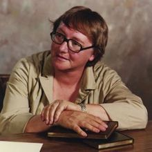 Marion Zimmer Bradley was an American author of fantasy novels such as The Mists of Avalon and the Darkover series. Many critics have noted a feminist perspective in her writing. In 2000, she was posthumously awarded the World Fantasy Award for lifetime achievement.
