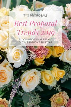 Are you looking to propose this year? Take a look at our latest trend report for proposals in 2019!