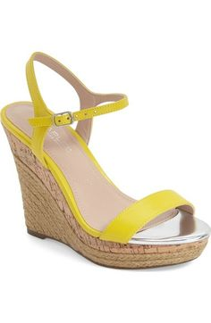 by Charles Women Nordstrom 'Arizona' Espadrille Charles Wedge David aq6pqzdw