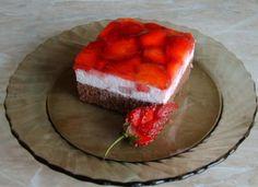 Jahodové kocky, recepty, Zákusky | Tortyodmamy.sk Tiramisu, Cake Recipes, Cheesecake, Food And Drink, Ethnic Recipes, Cakes, Nova, Easy Cake Recipes, Cake Makers