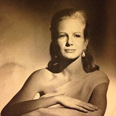Later photographed by Richard Avedon, Lily Cushing, at 18, already has the hallmarks of great beauty - wonderful features, spun-gold hair and height, apparently a trait of the upper crust Cushing family. When this portrait by Horst was published in a 1962 issue of Vogue, she was a student at Sarah Lawrence College, outside New York City. In the May 2015 House Beautiful, her profile by Avedon hangs on a wall in the apartment of older sister, designer Justine Cushing.