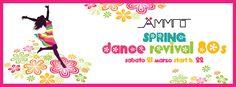 Il modo migliore di salutare l'arrivo della stagione primaverile! Sabato 21 Marzo è Spring Dance Revival 80s!