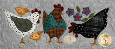 """Here a chick, there a chick, everywhere a chick, chick! This is an absolutely darling 36"""" x 42"""" flannel quilt by Bonnie Sullivan with adorable chicks in each block. This project features appliqué, piecing and simple hand embroidery. All fabrics are flannel and will be exactly as shown.Your program will include: Pre-fused and Laser-Cut Applique pieces! No need to trace, cut out, or turn the edges! All Patterns All Fabrics Buttons Backing is not included but can be added ..."""