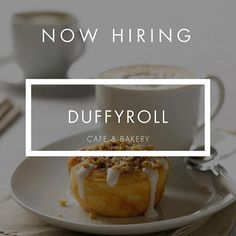 Duffyroll Cafe and Bakery isn't just a great place to eat, but also an amazing place to work! They are currently seeking a qualified, experienced candidate for a General Manager position. Head to https://app.sirvo.com/@Duffeyroll or [CLICK LINK IN BIO] to apply. #sirvojobs⠀⠀ ⠀⠀