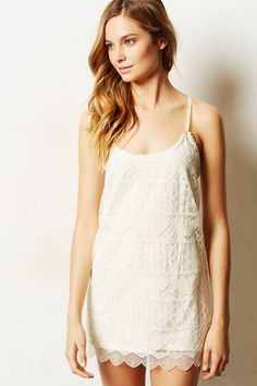 Butterfly Lace Chemise - anthropologie.eu