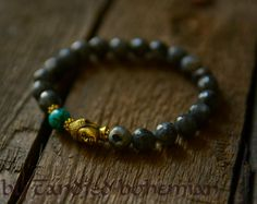 Mens Beaded Bracelet- Buddha Bracelet, Yoga Jewelry, Tibetan Jewelry, Chakra Bracelet,Yoga Bracelet, Buddha, Guru Bead, Mens Jewelry
