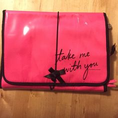new Victoria's Secret *new* and in perfect condition, never used! Hanging travel & lingerie bag. Victoria's Secret Bags Cosmetic Bags & Cases