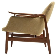 Finn Juhl NV-53 Chair, Niels Vodder | From a unique collection of antique and modern armchairs at https://www.1stdibs.com/furniture/seating/armchairs/