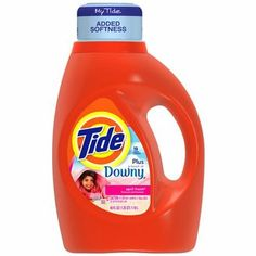 I'm learning all about Tide Plus a Touch of Downy April Fresh Scent Liquid Laundry Detergent at @Influenster!