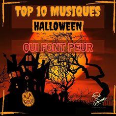 Top 10 des musiques d'Halloween qui font peur ! Tu cherches des musiques qui donne la chair de poule pour ta soirée du 31 octobre ? Je t'ai concocté une playlist pour passer une nuit d'horreur à collecter des bonbons ou un sort. Prends garde à ton palpitant, car tu risques de sursauter plusieurs fois en écoutant ses dix chansons effrayantes 🎃  #halloween #chansonshalloween #top10musiqueshalloween #soireehalloween #top10 #musiquehalloween Soirée Halloween, Comic Books, Cover, Movie Posters, Trick Or Treat, Musical Composition, Goose Bumps, October 31, Horror