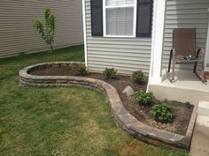 Landscape, Simple Backyard Landscape Ideas For Small Yards: Rocking Look with The Backyard Landscape Ideas for Small Yards