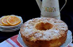 עוגת תפוזים ושטרוייזל Cake Icing, Fondant Cakes, Doughnut, French Toast, Deserts, Muffin, Food And Drink, Cooking Recipes, Sweets