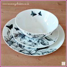 Sainsburys Botanical Tableware