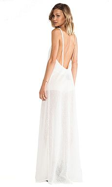 SOLACE London Wilma Maxi Dress in Cream Lace | REVOLVE