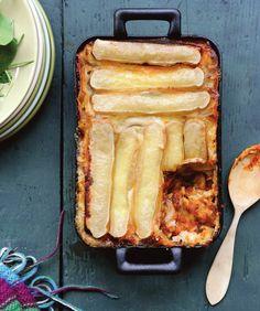 recette d'hivers! Lasagnes version tartiflette !