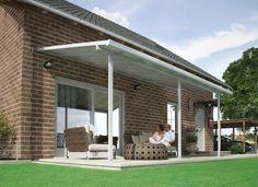 Pratique pour protéger du soleil et des intempéries. #terrasse #détente