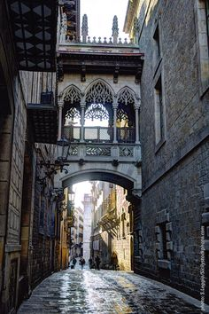 Morning walk in Barcelona by Sebastiano Leggio Beautiful Buildings, Beautiful Places, Amazing Places, Places To Travel, Places To See, Barcelona Travel, Spain And Portugal, Ancient Architecture, Adventure Is Out There