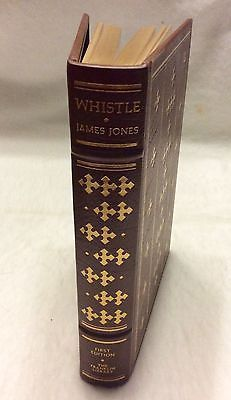 1978-Franklin-Library-First-edition-Whistle-James-Jones-limited-gold-tilted-mint
