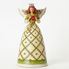 1000+ images about Jim Shore Angel Figurines on Pinterest | Figurine ...