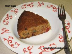 American Fruit cake is a rich dense cake packed with dry fruits and nuts, flavored with spices usually made during Christmas or for weddings. It is also called as 'Christmas fruit cake'. Rich Cake, Easy Indian Recipes, Plum Cake, Big Cakes, Round Cakes, Stick Of Butter, Gingerbread Man, How To Make Cake, Cake Recipes