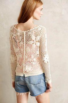Tokay Crochet Pullover